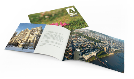a6 a5 and a4 brochure printing azimuth print