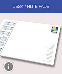 Desk/Note Pad Printing