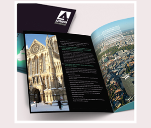 A4 Hard Laminated Cover Brochure Printing