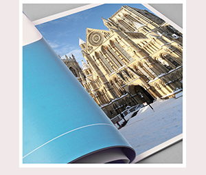 A5 Hard Laminated Cover Brochure Printing