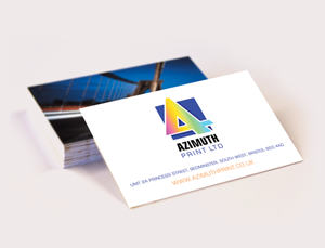 Double Sided Business Card Printing Azimuth Print