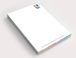 a4 letterhead headed paper printing azimuth print
