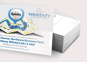 'We are moving' Card Printing