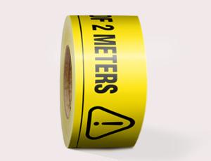Social Distancing PVC Floor Tape
