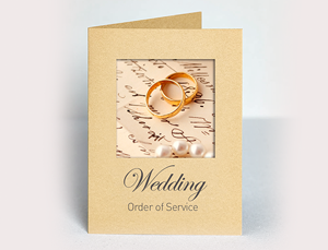 Wedding Booklet Printing
