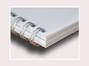 A6 Wire Bound Book Printing