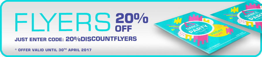 Flash Sale - 20% OFF Flyers
