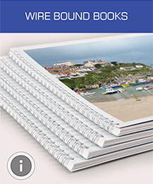 Wire Bound Book Printing